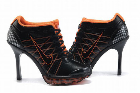 Nike Air Max 2009 Low Heels Black/Orange   share and want   Scoop.it