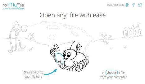 Édition de fichiers en ligne, RollMyFile | Les Infos de Ballajack | Outils TICE : programmes, plateformes et services... | Scoop.it