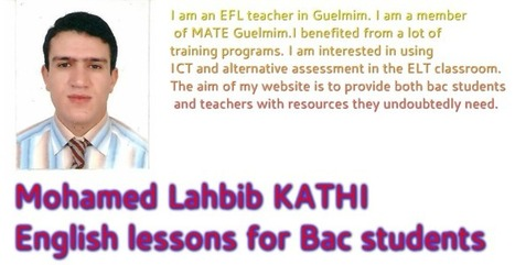 Mohamed Lahbib KATHI English lessons for students | Teaching Materials | Scoop.it