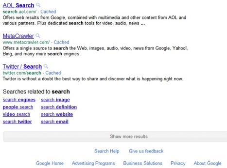 Google Tests Infinite Scrolling for Search Results Pages | Google Sphere | Scoop.it