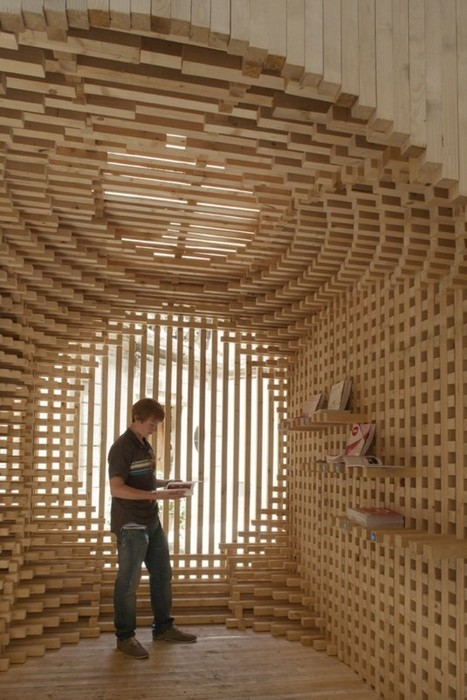 Pavilion for the Festival of Lively Architecture by AtelierVecteur | The Architecture of the City | Scoop.it