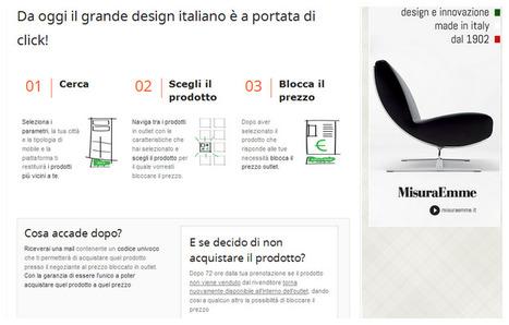 Lighting ideas: GRANDE NOVITA' MISURAEMME....nasce l'outlet interattivo | ...talking about MisuraEmme | Scoop.it