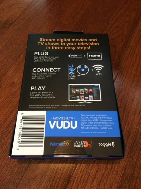 Walmart's New Vudu Spark Costs $25, But Remains Limited vs Chromecast, Fire TV Stick, Etc. | Low Power Heads Up Display | Scoop.it