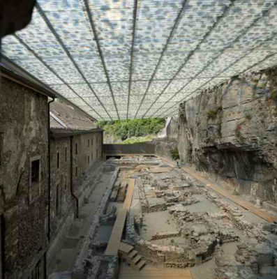 Creative Coverage: New Roof Preserves Archaeological Ruins | Building(s) Homes & Cities | Scoop.it