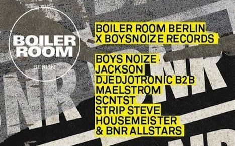 Boiler Room : les sets de la soirée Boysnoize Records en écoute | 1986 | Scoop.it