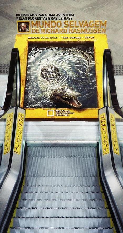 Creative Advertising Examples Using Ambient Ads | Integrated Marketing Communications | Scoop.it