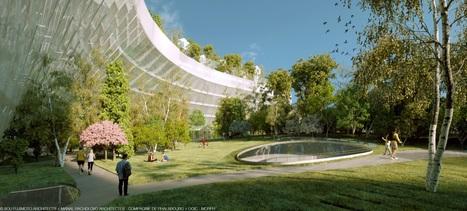 En 2022, une forêt de mille arbres surplombera le périphérique | ville et jardin | Scoop.it