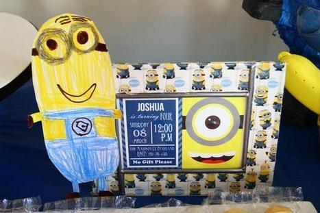 Hostess with the Mostess® - Minion 4th Birthday | A Birthday 2 Remember | Scoop.it