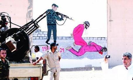 Walls that talk: Libya's Abu Salim jail|ArabNews | Libya from Egyptday1 | Scoop.it