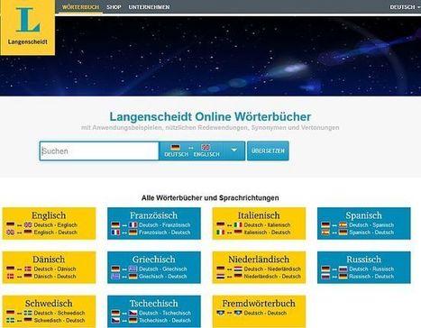 (DE) - Langenscheidt bietet Online-Wörterbücher jetzt kostenlos und werbefinanziert an | UEPO.de | translation | Scoop.it