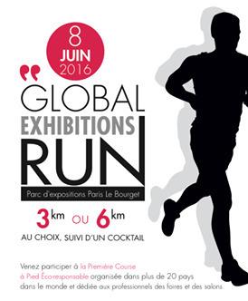 Tous à la Global Exhibitions Run ! www.3-0.fr | l'événementiel éco-responsable | Scoop.it