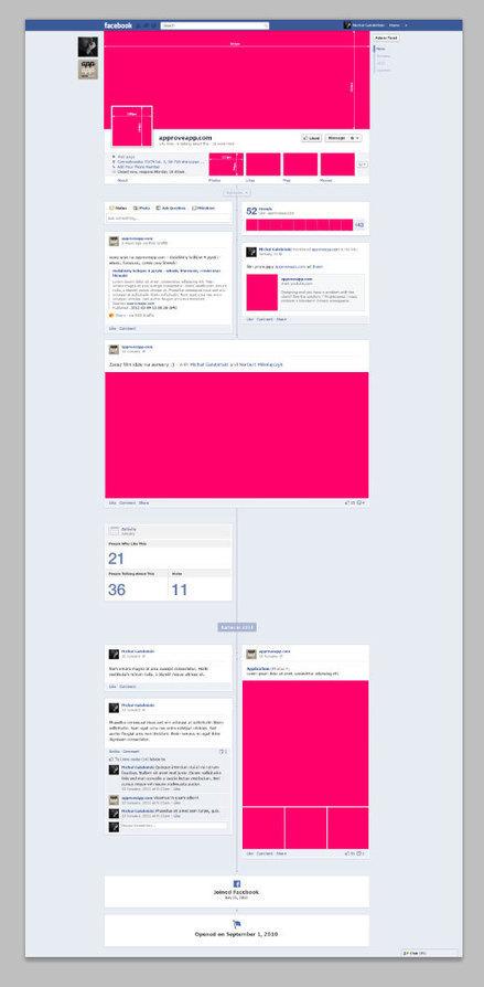 Descárgate gratis el timeline de Facebook en PSD | Blog de Diseño ... | maurodesing | Scoop.it