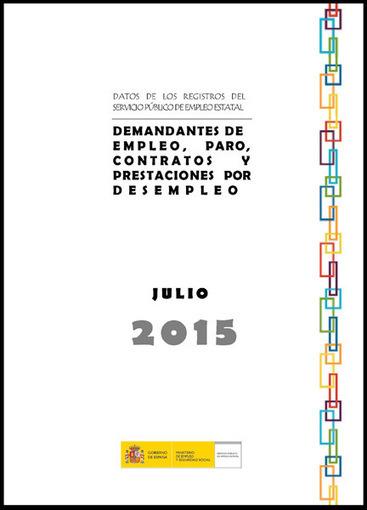 Datos del paro de julio de 2015 | Empleo Palencia | Scoop.it