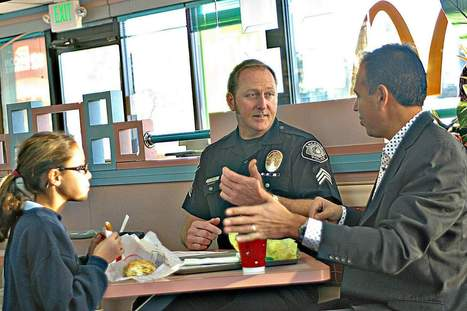 Arcadia police sit down with the public in first 'Coffee with a Cop' event - San Gabriel Valley Tribune   Time for a cuppa   Scoop.it