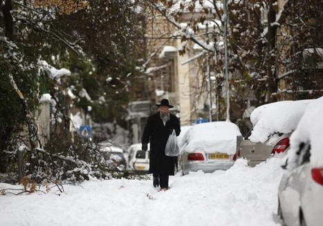 #Jerusalem -  #Huge Snow Storm Continues To Batter Israel (photos) | News You Can Use - NO PINKSLIME | Scoop.it