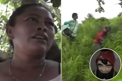 Mysterious 'evil goblins' capture woman and keep her in a cave | Strange days indeed... | Scoop.it