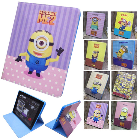 Despicable Me Cartoon PU Leather Case Cover w/ Stand for Samsung Tab P5200 | Find Despicable Me Products? | Scoop.it