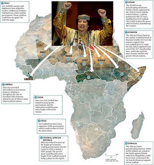 GADDAFI PLACED $97 BILLION TO FREE #AFRICA FROM IMPERIALISM! | Saif al Islam | Scoop.it