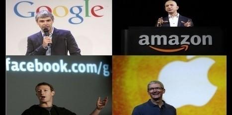 Google, Amazon, Apple et Facebook : main basse sur la culture ! | Le monde aux pieds des GAFA? | Scoop.it