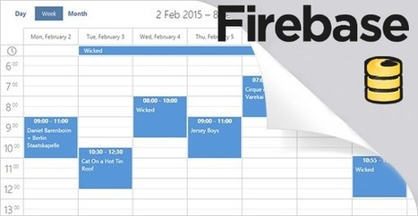 FireBase Adapter for Real-Time Apps with dhtmlxScheduler   DHTMLX JavaScript UI Library   Scoop.it