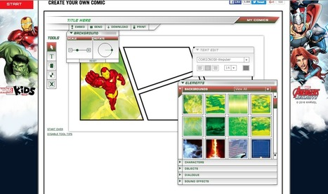 10 Herramientas TIC para hacer Historietas | Las TIC en el aula de ELE | Scoop.it