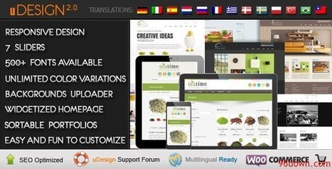 U-Design WordPress Theme v2.1.0 [F] | Download Free Full Scripts | test | Scoop.it