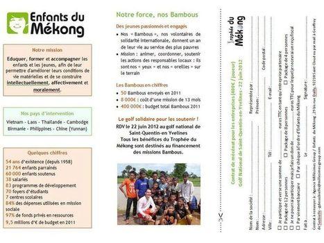 Un trophée de golf pour aider Enfants du Mékong | Chrétienté Info ... | Golf News by Mygolfexpert.com | Scoop.it