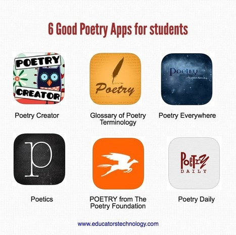 6 Great iPad Poetry Apps for Students | Go Go Learning | Scoop.it