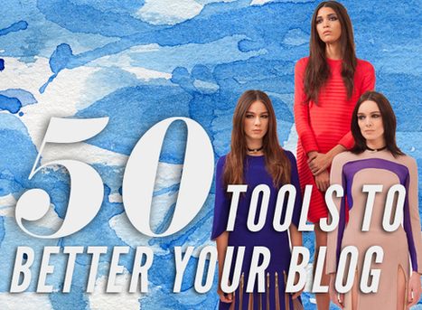 50 Online Tools to Better Your Blog   IFB   Top Social Media Tools   Scoop.it