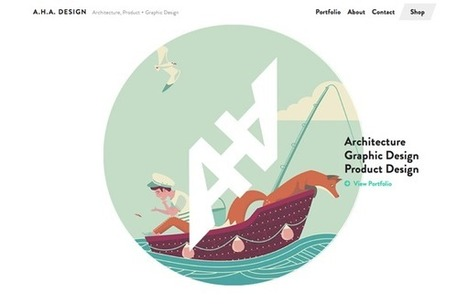 Visual Storytelling in July's Top 10 Websites for Designers | Graphics Web Design & Development News | Scoop.it