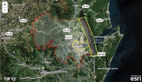 Cidade de Joinville disponibiliza online seus produtos cartográficos | MundoGEO | Geoprocessing | Scoop.it
