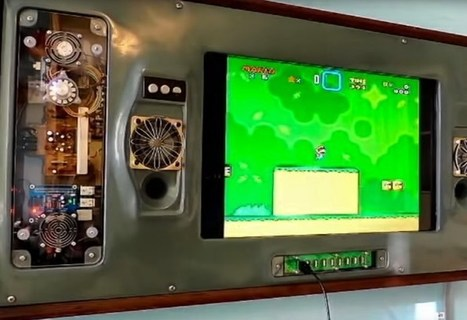 Wall Mounted Raspberry Pi Games Console (video) | Raspberry Pi | Scoop.it