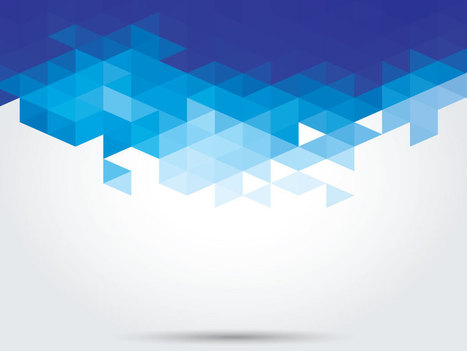 Abstract Blue Geometric PPT Backgrounds   PowerPoint Backgrounds   Scoop.it