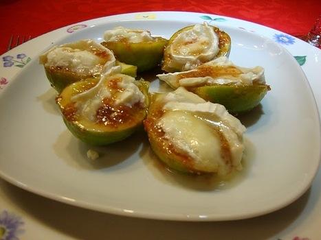 As Minhas Receitas: Figos com Queijo de Cabra e Mel | Foodies | Scoop.it