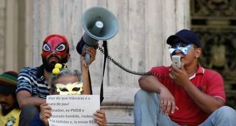 Manifestantes com máscaras serão identificados civil e criminalmente | Admirável Mundo Novo | Scoop.it