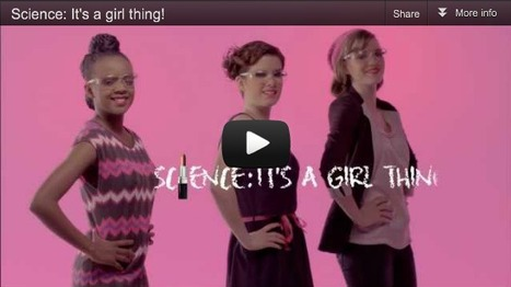 Short Sharp Science: Overtly 'girly' scientists alienate potential students | Geek Chic | Scoop.it