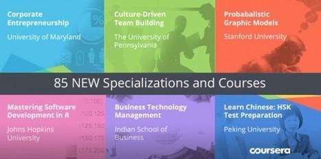 Coursera agrega una nueva colección de cursos online y gratuitos | Educación y TIC | Scoop.it
