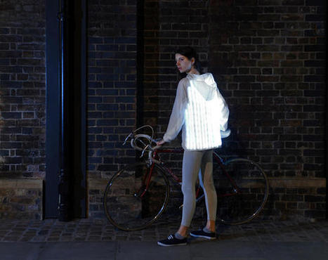 This Bio-Inspired Bike Jacket Flashes When Drivers Get Too Close | Biomimicry | Scoop.it