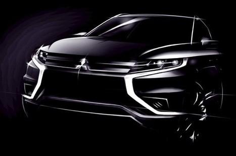 Mitsubishi Plans Sporty Outlander Plug-In Hybrid Concept For Paris Auto Show | Mitsubishi | Scoop.it