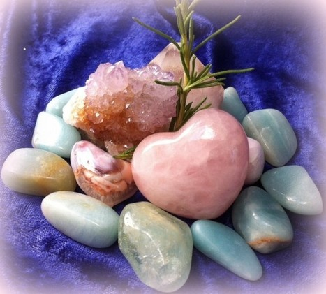 A new way to use your gemstones | Sage Goddess | Blarney_Stone Antiques and Collectibles | Scoop.it