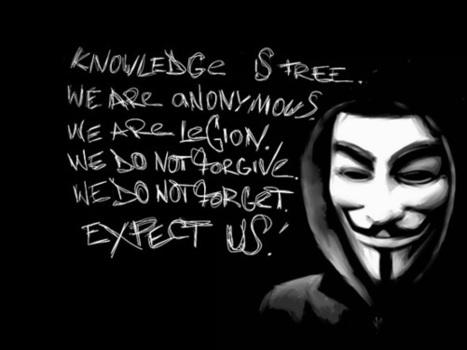 Anonymous planifie une attaque de grande envergure le 5 novembre - Presse-citron | We Are Anonymous | Scoop.it