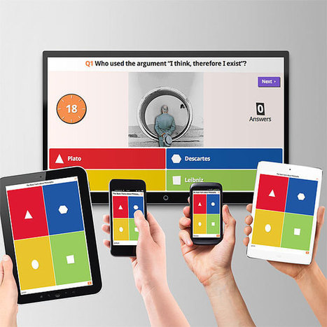Kahoot! | Game-based blended learning & classroom response system | blended learning | Scoop.it