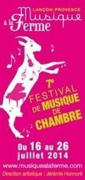 «Musique à la Ferme», un festival de musique de chambre atypique à Lançon   Tendances gastronomiques et innovations culinaires   Scoop.it