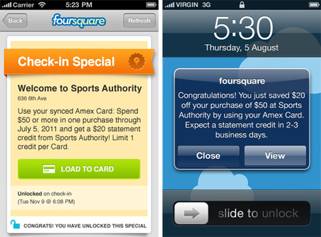 With AmEx Partnership, Foursquare May Prove Social Media's Real ROI   Social media news   Scoop.it