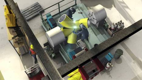 A factory of the future? Serial Production of HEXABASE offshore wind foundations | OWI-Lab | Scoop.it