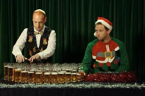 Carling does Silent Night on beer glasses to 'capture British Christmas spirit' - Marketing   beer marketing   Scoop.it