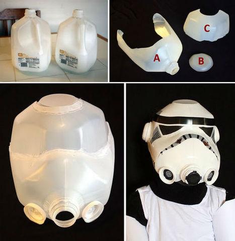 Milk Jug Storm Trooper Helmet | quebuenanoticiamexico | Scoop.it