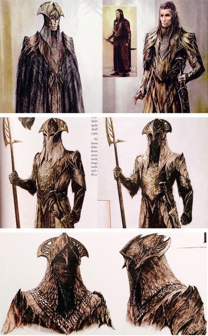 Orcs & Tauriel Concept Art For THE HOBBIT: DESOLATION OF SMAUG - Comic Book Movie | 'The Hobbit' Film | Scoop.it