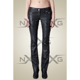 Elaine Leather Pant | Womens Leather Pants | Low waist Leather Pant for Women on sale | LeatherNXG Online | Scoop.it