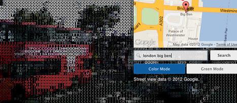 Google Street View goes retro with unofficial ASCII treatment | ASCII Art | Scoop.it